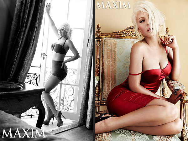 Christina Aguilera Strips Down and Reveals What's Sexy