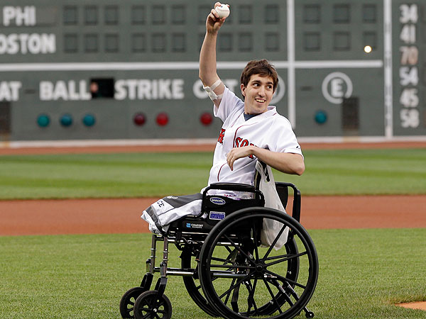 Boston Marathon Bombing Survivor Jeff Bauman Prepares Memoir