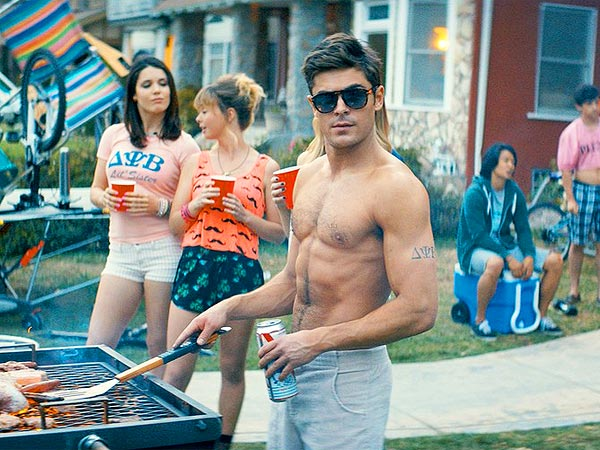 Zac Efron Goes Shirtless in New Neighbors Still