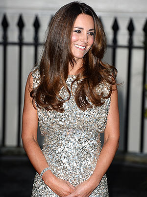 Kate Dazzles in First Big Night Out Since Giving Birth