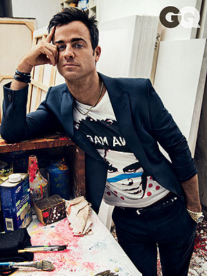 Justin Theroux's Collectibles Aren't Allowed at Home with Jennifer Aniston
