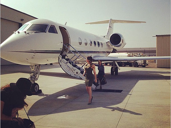 Khloé Kardashian Odom Takes Work Trip to Las Vegas