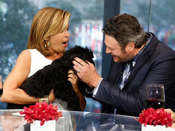 The Daily Treat: Blake Shelton Meets His Doggy Namesake on Today