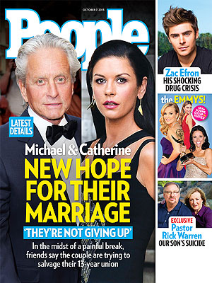 How Catherine Zeta-Jones and Michael Douglas Are Fighting to Save Their Marriage