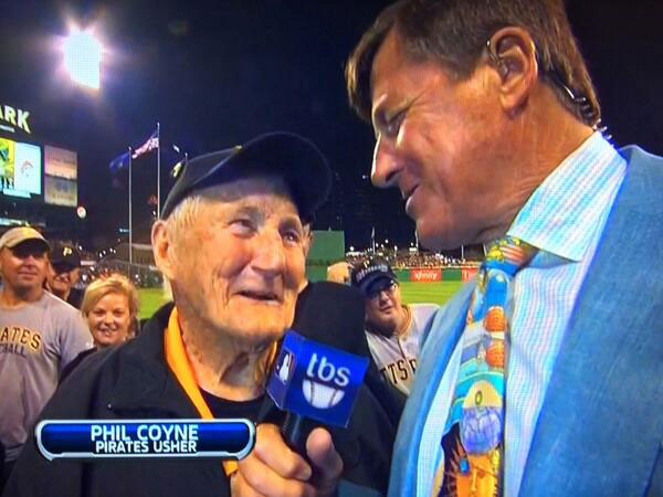Phil Coyne, the 95-Year-Old Pittsburgh Pirates Usher, Has Charmed Fans Since '36