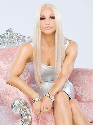 Gina Gershon Stars as Donatella Versace in 'House of Versace'