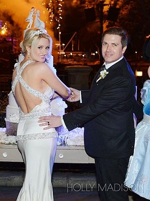Holly Madison's Fairytale Wedding at Disneyland