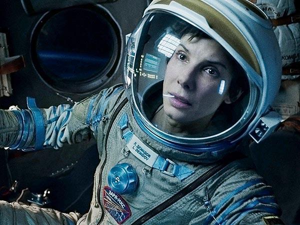 Sandra Bullock Stars in 'Gravity,' Son Louis Was On Set