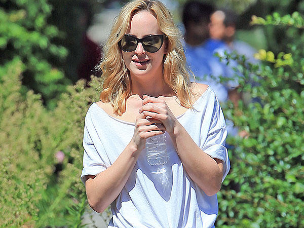 Fifty Shades of Grey's Dakota Johnson Lunching in L.A.