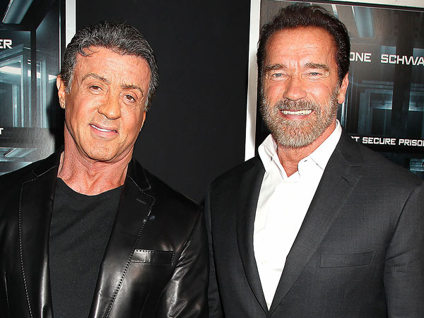Stallone and Schwarzenegger: Anatomy of a Bromance