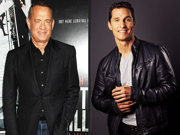 Matthew McConaughey: I Called Tom Hanks to Help Me Lose Weight