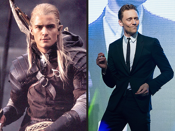 Tom Hiddleston Dancing, Orlando Bloom Taking the Hobbits Video and More