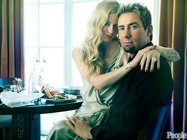Avril Lavigne and Chad Kroe