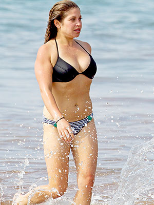 Danielle Fishel Honeymoons in Bikini in Hawaii