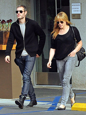 Michael Morris and Mary McCormack Step Out After He Was Seen Kissing Katharine McPhee