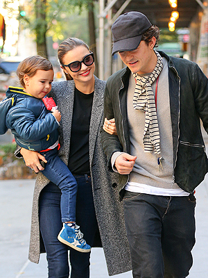 Orlando Bloom and Miranda Kerr Step Out with Son Flynn, Post-Split