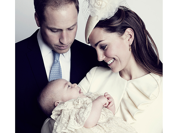 William and Kate Share Another Picture of George