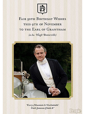 Downton Abbey Birthday: Happy 50th Hugh Bonneville