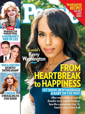 Kerry Washington: From Heartbreak to Happiness