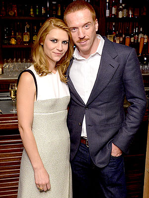 Damian Lewis Celebrates Movember with a Mustache