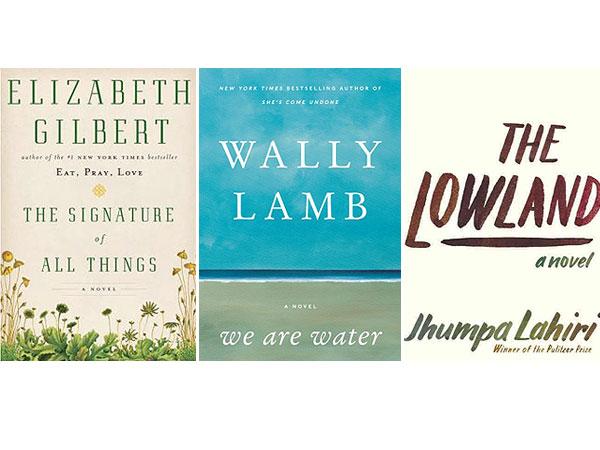 Jhumpa Lahiri, Elizabeth Gilbert and Wally Lamb's New Novels Are Buzzing