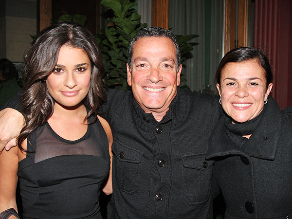Lea Michele: My Family Gives Me the Strength I Need