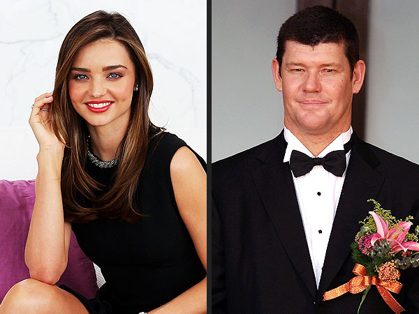 Miranda Kerr and james packer