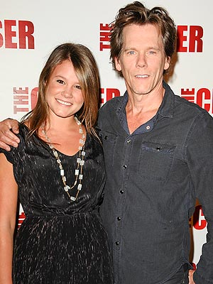 Kevin Bacon's Advice for His Daughter, Miss Golden Globe: 'Don't Trip!'