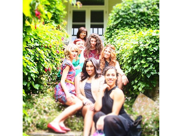 Taylor Swift Celebrates 24th Birthday with Lorde in Australia: See Her Garden Party
