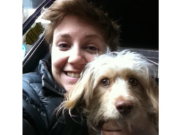 Girls Star Lena Dunham Adopts Dog