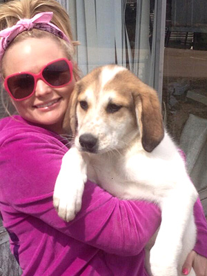 Miranda Lambert Finds Dog on Highway, Tweets Photo