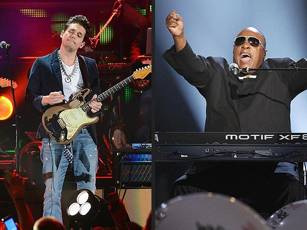 Stevie Wonder, John Mayer Crash ACM Awards: Poll