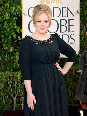 Golden Globes - Adele Wins for Skyfall