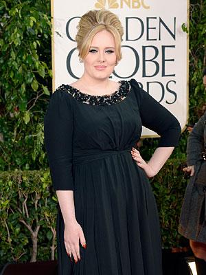 Golden Globes - Adele Wins for Skyfall
