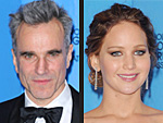 The 2013 Golden Globe Winners | Daniel Day-Lewis, Jennifer Lawrence