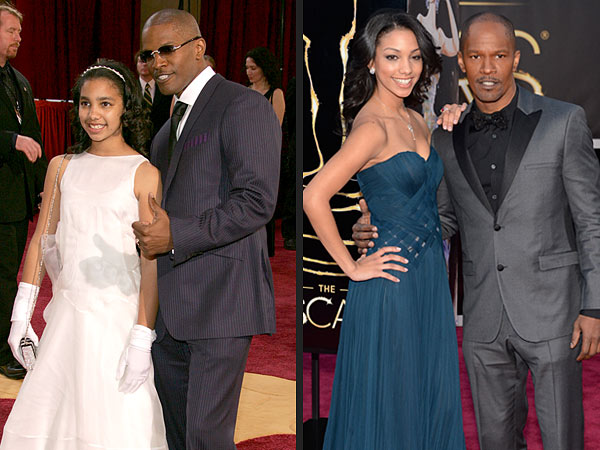 Oscars: Jamie Foxx Brings Daughter Corrine to the 2013 Academy Awards