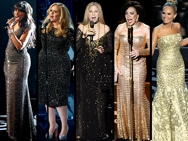 Adele, Barbra Streisand: Oscars Performers; Divas Rule Academy Awards