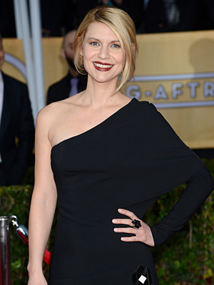 SAG Awards: Claire Danes Says Son Cyrus Is 'Getting Fat!'