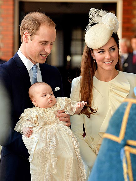 Prince George's Christening:Meet the Players