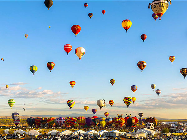 Albuquerque International Balloon Fiesta Time-Lapse Video
