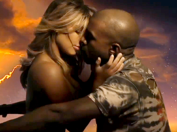 "Find out what couples appeared in music videos together before Kanye's ""Bound 2"""