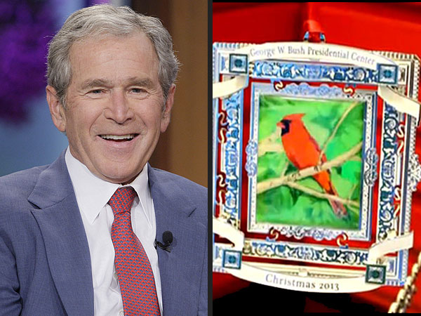 George W. Bush Says He's 'Still Learning' When It Comes to His Painting
