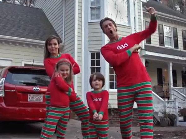 Christmas Viral Videos: XMAS JAMMIES, Rudolph Defying Gravity