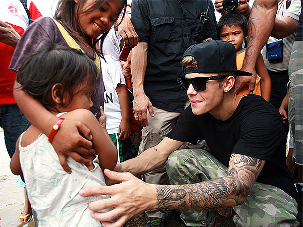 Justin Bieber Retiring, Volunteering in Philippines