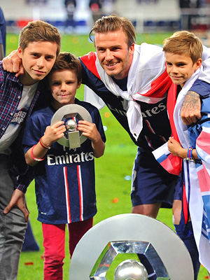 Star Tracks: Star Tracks: Monday, May 20, 2013 | David Beckham