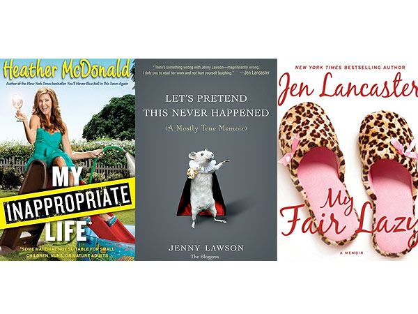 What We're Reading This Weekend: Make-You-Laugh Memoirs