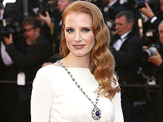 Jessica Chastain: Wearing Elizabeth Taylor's Jewels Was 'a Little Scary!' | Jessica Chastain