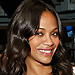 Oh Baby! Galaxy Costars Zoë Saldana and Chris Pratt Compare Bumps
