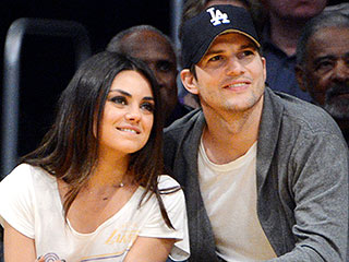 It's a Girl for Ashton Kutcher and Mila Kunis