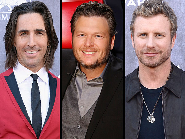 Blake Shelton, Luke Bryan, Tim McGraw: Hot Country Guys
